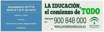Escolararización 2017/2018